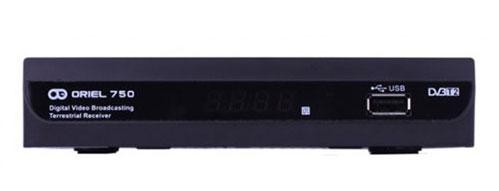 Ресивер Oriel-750 (DVB-T2)