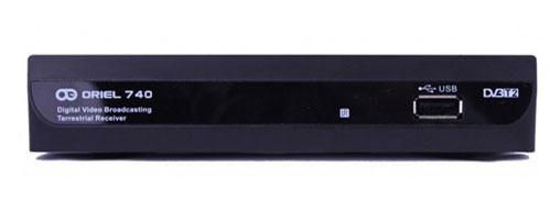 Ресивер Oriel-740 (DVB-T2)
