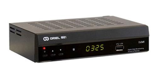 Ресивер Oriel 821 (DVB-T2)