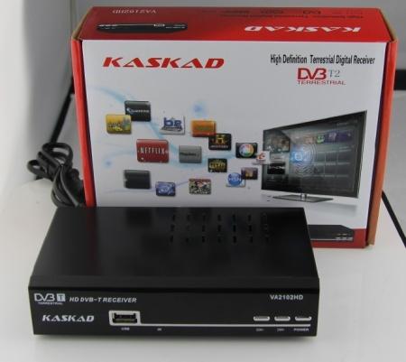 Телевизионная приставка KASKAD VA2102HD (DVB-T2) + Медиаплеер